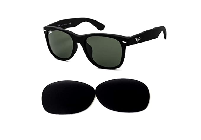 826ab3c9c77b8 Galaxy Replacement Lenses For Ray-Ban RB 2132 New Wayfarer Black 52 mm (not