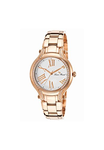 Lucien Piccard Women's LP-16353-RG-22 Elisia Analog Display Quartz Rose Gold-Tone Watch