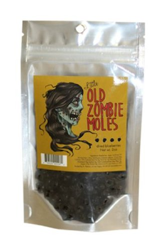 Zombie Moles Snack Food (Dried Blueberries)