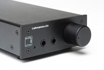 Lehmann Audio Linear Black - Amplificador para auriculares, negro: Amazon.es: Electrónica