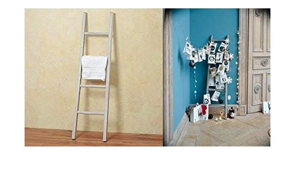 Tamia-Home Lexy 1515900- Soporte para toallas, diseño de escalera: Amazon.es: Hogar