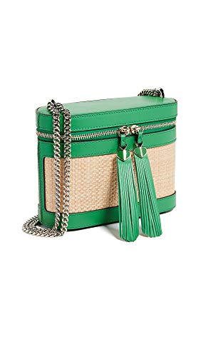 Kate Spade New York Women's Rose Small Crossbody Bag, Green Bean, One Size ()