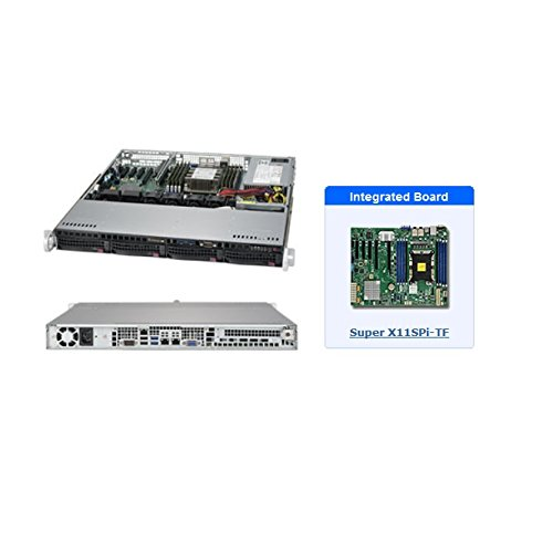 Supermicro SYS-5019P-MT 1U Server (Best Scalable Web Hosting)