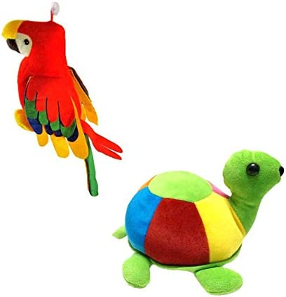 Deals India Musical Parrot And Tortoise Combo