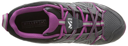 Millet Ld Fast Alpine, Zapatillas de Deporte Exterior para Mujer Gris - Gris (Amarante/Charcoal)