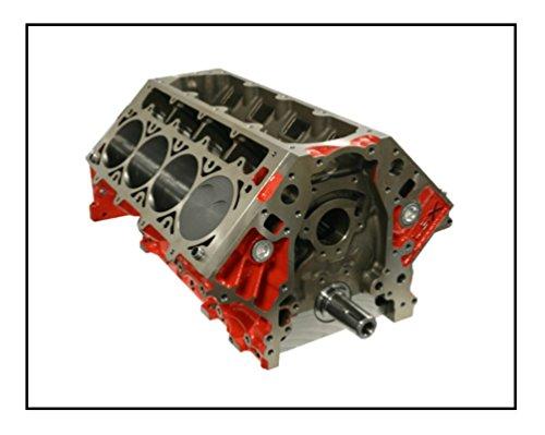 Stroker Short Block - AMS Racing 428 CID Chevrolet LSX Forged Stroker Short Block w/K1 Brand Forged Rotating Assembly & Mahle Powerpak Plus -25cc Inv. Dome Pistons