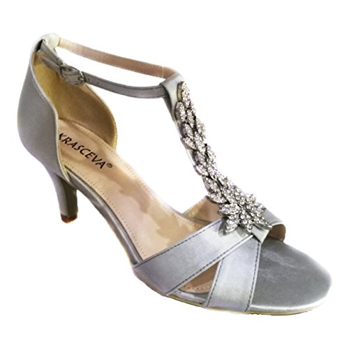 Sandals Bridal Boutique Gorgeous Absolutely Satin Wedding Mid T ...