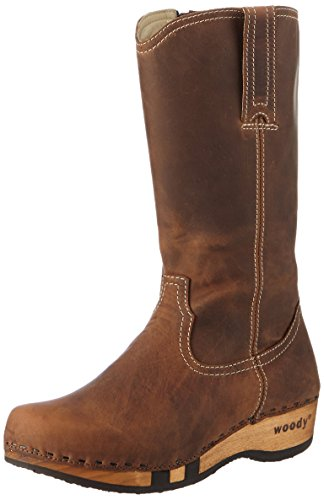 Tabacco Women's Woody Boots 001 Texas Brown AIAUqzw