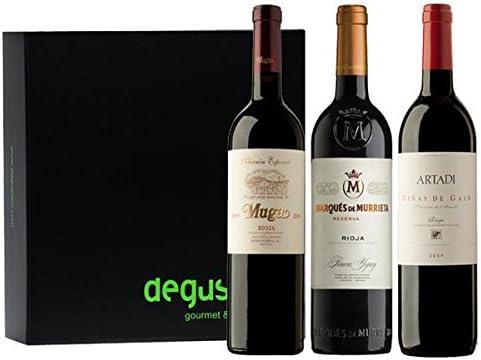 Estuche de vinos Rioja: Amazon.es: Alimentación y bebidas
