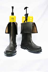 Final Fantasy Cosplay Shoes Boots Custom Made Cloud Strife