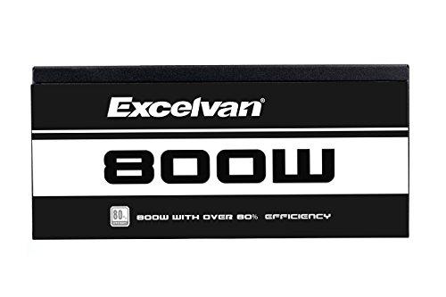 Excelvan ATX Computer Power Supply Desktop PC for Intel AMD PC SATA US (800W) by Excelvan (Image #5)