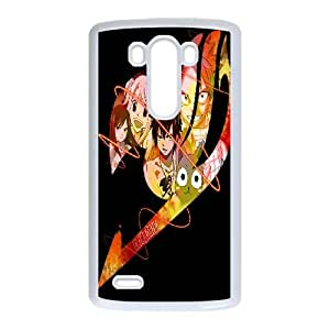 LG G3 Cell Phone Case White Fairy Tail EG6539958