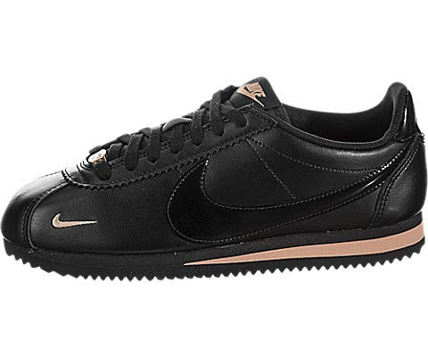 new concept 1bd0b 7f550 Nike Women's Classic Cortez Premium Black/Rose Gold/Black - Import It All