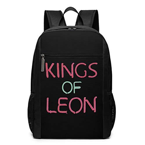 KkdsKkds Kings Of Leon Laptop Backpack College Youth School Bag Travel Backpack 17 Inch