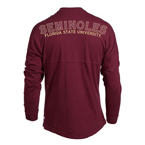 Official NCAA Florida State Seminoles FSU Women's Spirit Wear Jersey T-Shirt