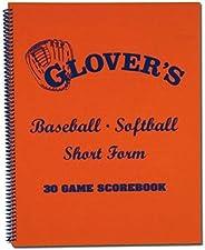 Glover's Short Form Baseball Softball Score