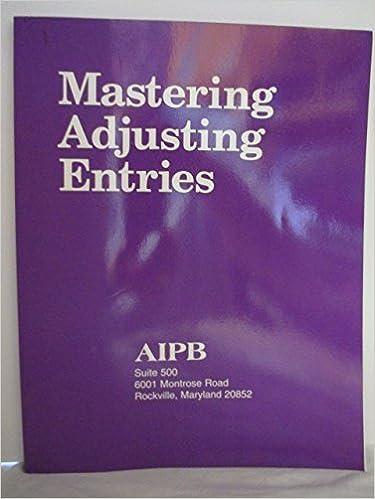 .com: mastering adjusting entries (professional bookkeeping ...