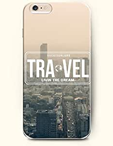iPhone 6 Case,OOFIT iPhone 6 Plus (5.5) Hard Case **NEW** Case with the Design of TRAVEL LIVIN THE DREAM - ECO-Friendly Packaging - Case for Apple iPhone iPhone 6 Plus (5.5) (2014) Verizon, AT&T Sprint, T-mobile
