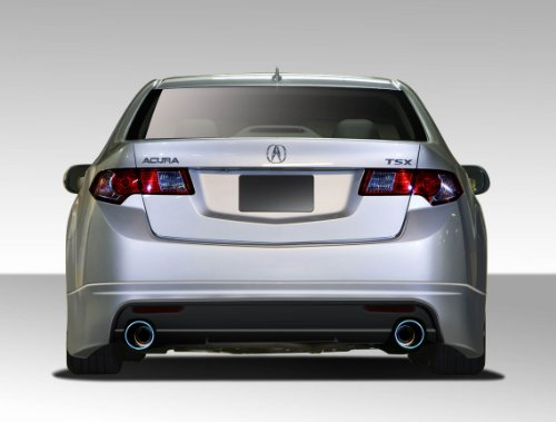 Duraflex ED-KVB-902 Type M Rear Lip Under Spoiler Air Dam - 1 Piece Body Kit - Compatible For Acura TSX 2009-2014