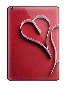 RTFWHuK4862bvUYU Anti-scratch Case Cover ZippyDoritEduard Protective Love Red Case For Ipad Air