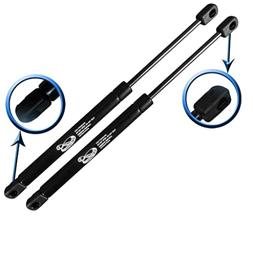 Two Front Hood Gas Charged Lift Supports For 00-06 Audi TT Coupe, 00-06 Audi TT Quattro Coupe, 01-06 Audi TT Convertible, 01-06 Audi TT Quattro Convertible. Left and Right Side. LSC-0355-2