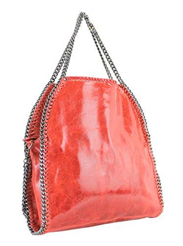 Bolso De Para My Mujer Piel Lisa Oh Asas Bag Rojo vqEHxwt