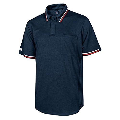 Majestic Cool Base Men's Baseball/Softball Umpire Polo Shirt (Baseball Umpire Shirt)