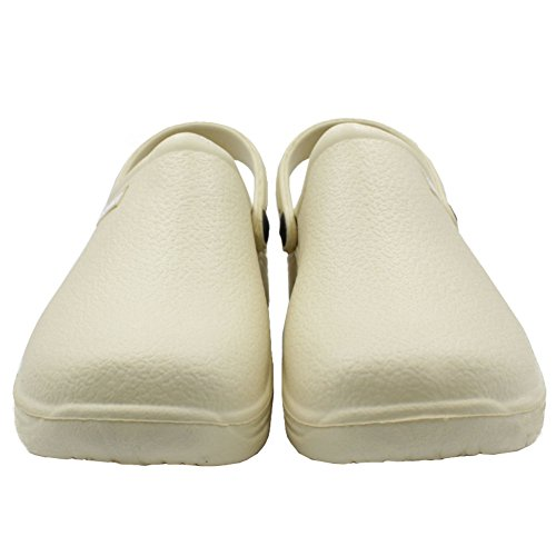 Shoes Women's Garden Beige Sport Slingback Clogs Solid vqCg18