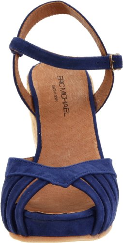 Eric Michael Womens Kamielle Wedge Blue miudh