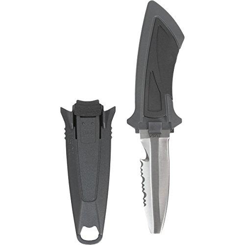 TUSA FK-11 Mini Dive Knife, Blunt Tip, Black