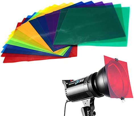 Colored Overlays Transparency Correction Assorted product image