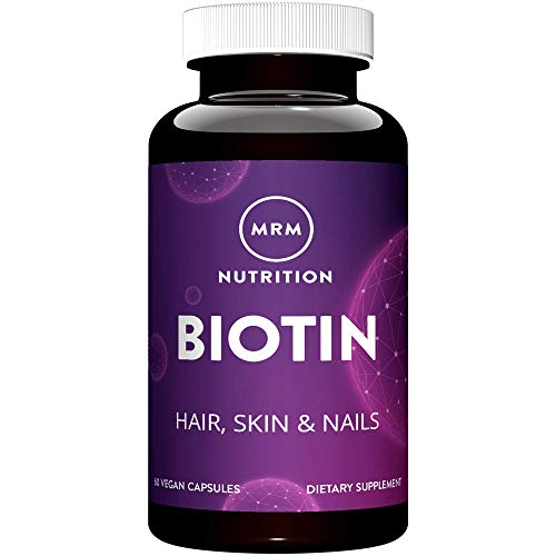 Biotin 5mg High Potency (A Water Soluble B Vitamin)