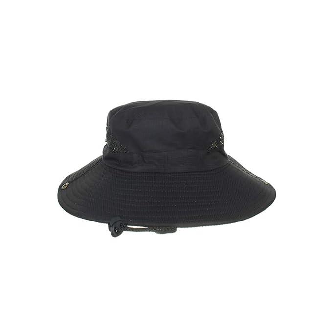 Outdoor Foldable Hat Summer UV Protection Safari Cap Fishing Hunting Hat