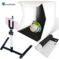 LimoStudio LED Light Portable Mini Photo Shooting Box Tent