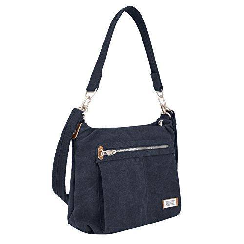 Travelon Anti-theft Heritage Hobo Bag, Indigo, One Size