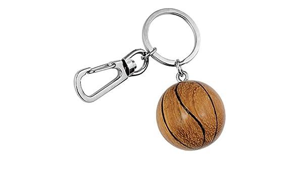 Ten Llavero de Pelota de Baloncesto ecológico Hecho a Mano ...