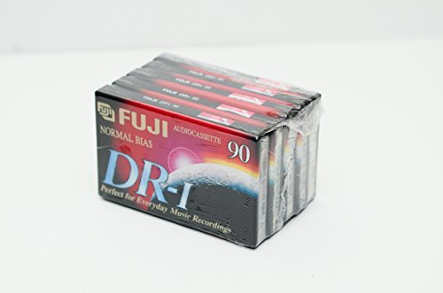 (5 Pack) Fuji Normal Bias DR-I Audiocassette 360 Minutes by Fuji
