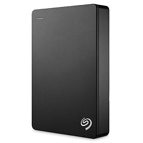 Seagate Backup Plus 5TB Portable External Hard Drive USB 3.0, Black (STDR5000100) (1 5tb External Hard Drive)