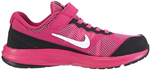 Nike Fusion Run 3 (PSV) - Zapatillas para niñas rosa - Pink (Hot Pink/White-Black-Fireberry)