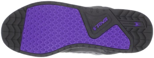Teva Links 8715 - Zapatillas de deporte unisex Negro (Schwarz/ultra violet)
