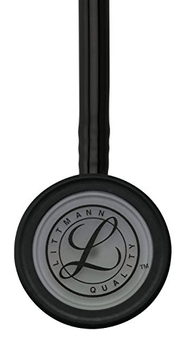 3M Littmann Classic III Monitoring Stethoscope, Smoke-Finish, Black Tube, 27 inch, 5811