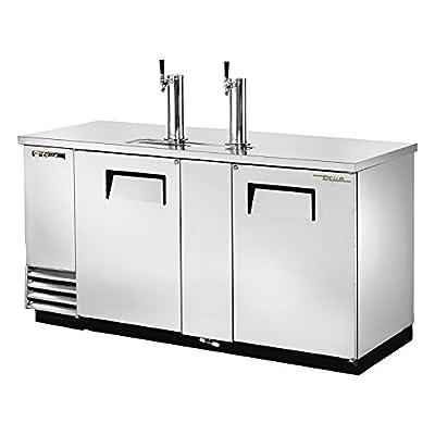Draft Beer Cooler (3) Keg Capacity True Refrigeration TDD-3-S (Each)