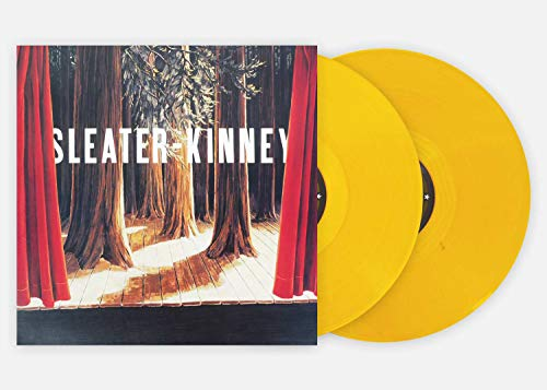 (Sleater-Kinney - The Woods Exclusive Pressing Numbered Amber Vinyl LP (Club Edition))