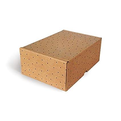 Cajas de Cartón fantasia CTF1711, Pack de 10 Uds
