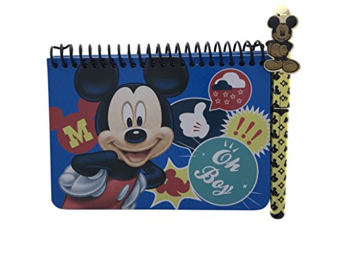 Mickey Autograph (Blue Mickey Mouse Autograph Book with Pen (Blue-Oh Boy))