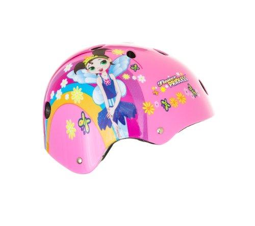 Titan Flower Princess Pink Helmet 11-Vent Multi-Sport Skateboard and BMX, Youth Size Small