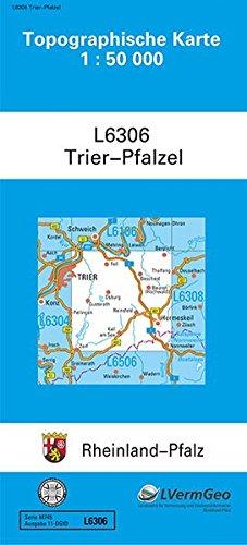 TK50 L6306 Trier-Pfalzel: Topographische Karte 1:50000 (Topographische Karten 1:50000 (TK 50) Rheinland-Pfalz (amtlich)) Landkarte – 22. Juni 2017 3896371819 Deutschland Stadtplan Umgebungskarte