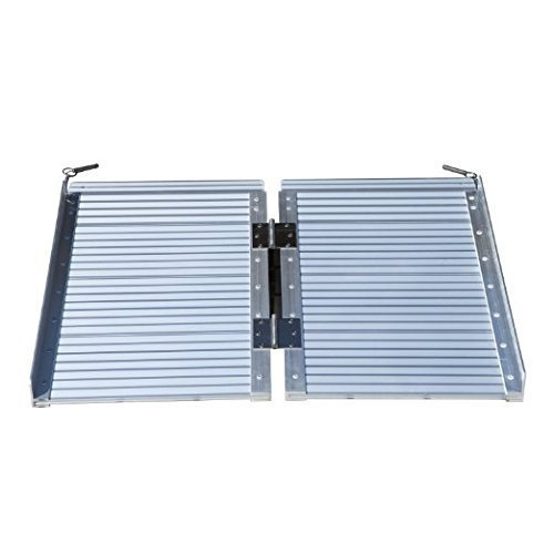 Tenive-2-Portable-Folding-Suitcase-Aluminum-Wheelchair-Threshold-Ramp-Mobility-Ramps
