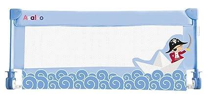 Asalvo Barrera de Cama 90 cm Barquito de Papel Bebess