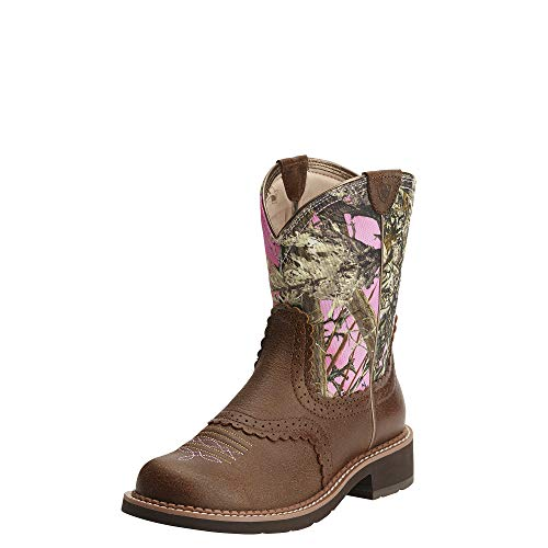 ARIAT Fatbaby Heritage Western Boot Vintage Bomber Size 6.5 M US